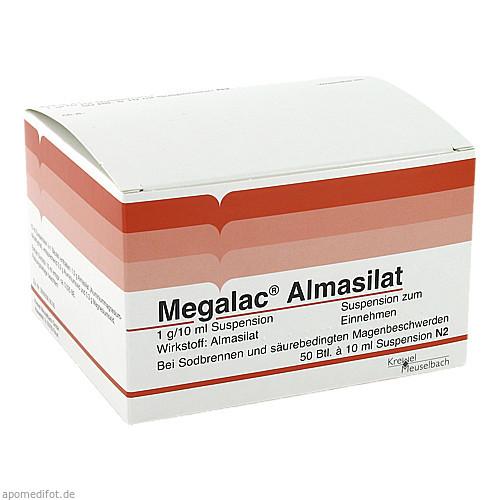 MEGALAC ALMASILAT, 50X10 ML, Krewel Meuselbach GmbH