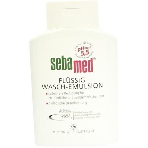 SEBAMED FLUESSIG WASCHEMULSION, 200 ML, Sebapharma GmbH & Co. KG
