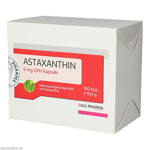 Astaxanthin 4 mg GPH Kapseln, 180 ST, Hecht-Pharma GmbH