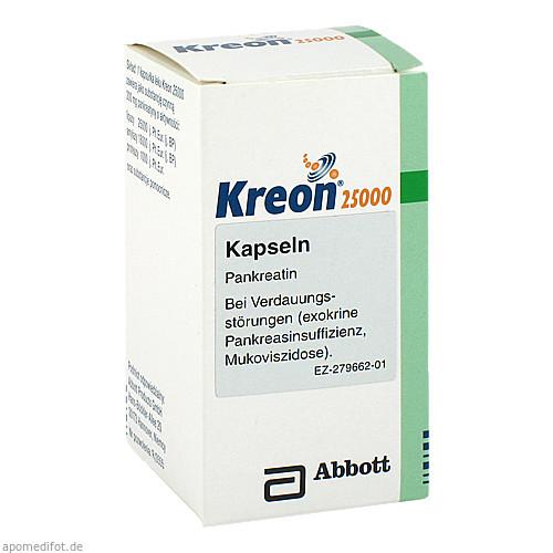 KREON 25000 Kapseln, 50 ST, Eurimpharm Arzneimittel GmbH