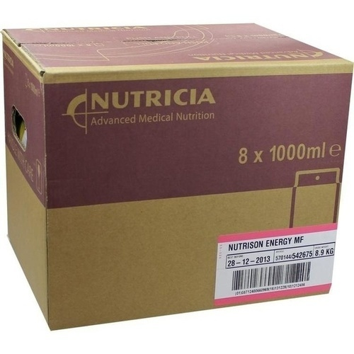 Nutrison Energy Multifibre Pack, 8X1000 ML, Nutricia GmbH