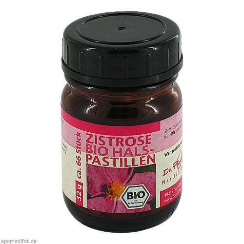 Zistrose Bio Halspastillen, 66 ST, Dr. Pandalis GmbH & Co. KG Naturprodukte