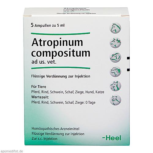 ATROPINUM COMPOSITUM ad us.vet.Ampullen, 5 ST, Biologische Heilmittel Heel GmbH
