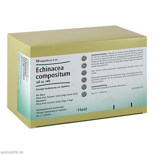 ECHINACEA COMPOSITUM ad us.vet.Ampullen, 50 ST, Biologische Heilmittel Heel GmbH
