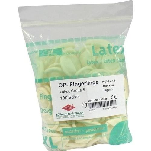 OP FINGERLINGE GR 5 101525, 100 ST, Büttner-Frank GmbH