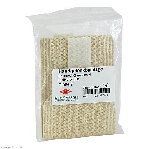 HANDGELENKBANDG G2 101626, 1 ST, Büttner-Frank GmbH