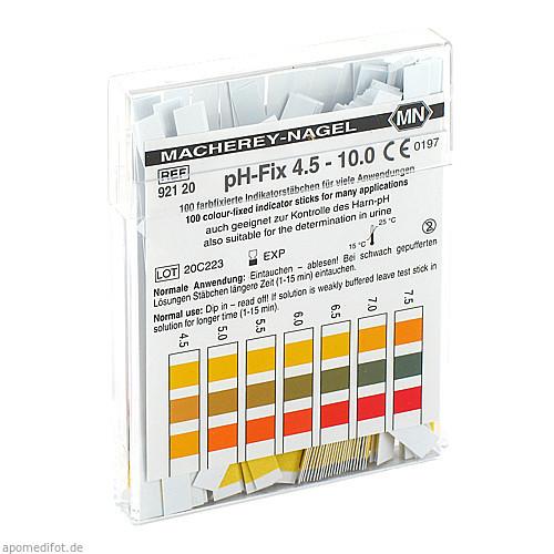 PH-FIX Indikatorstäbchen pH 4,5-10, 100 ST, MACHEREY-NAGEL GmbH & Co. KG
