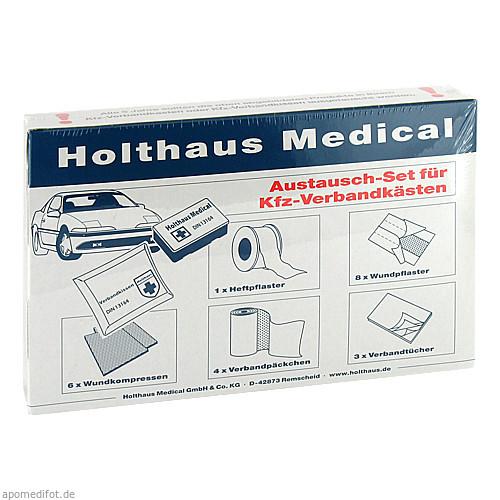 AUSTAUSCHSET FUER KFZ VERBANDKASTEN, 1 ST, Holthaus Medical GmbH & Co. KG