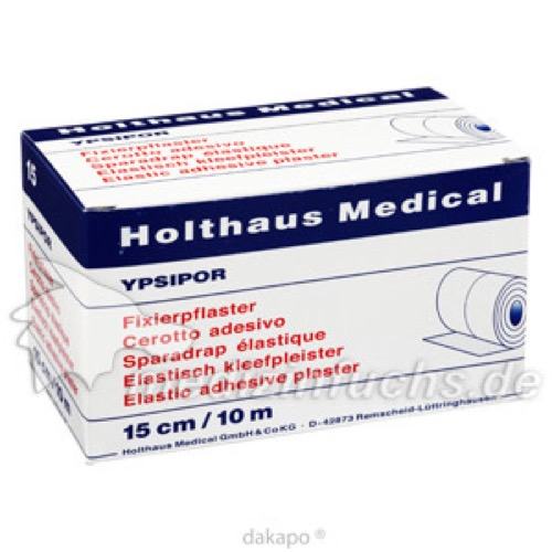 FIXIERPFLAS YPSIPOR 15X10, 1 ST, Holthaus Medical GmbH & Co. KG