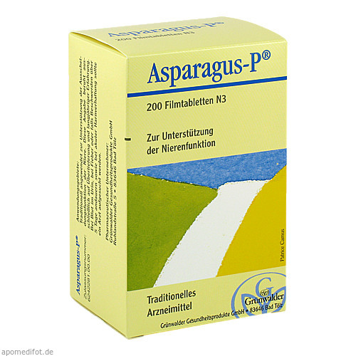 ASPARAGUS P, 200 ST, Grünwalder Gesundheitsprodukte GmbH