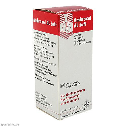AMBROXOL AL Saft, 250 ML, Aliud Pharma GmbH