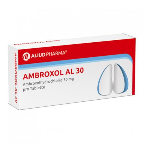 AMBROXOL AL 30, 50 ST, Aliud Pharma GmbH