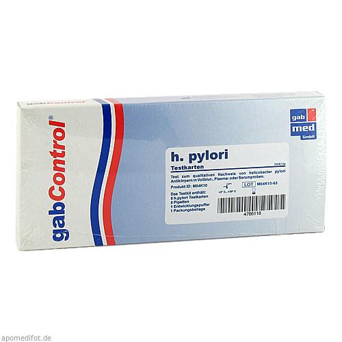 Helicobacter pylori-Testkit Vollblut, 5 ST, Gabmed GmbH