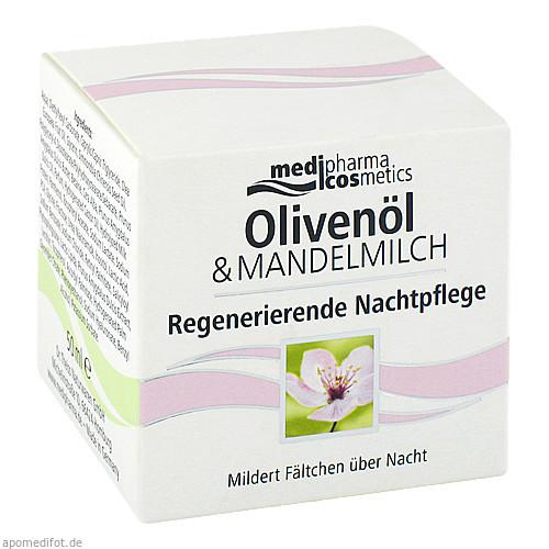 Oliven-Mandelmilch Regenerierende Nachtpflege, 50 ML, Dr. Theiss Naturwaren GmbH