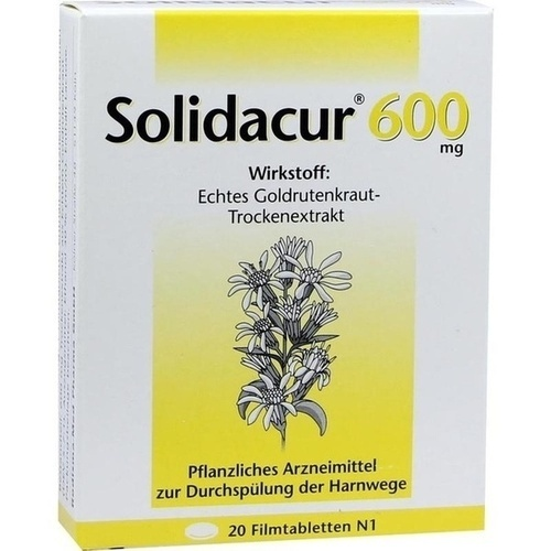 Solidacur 600mg, 20 ST, Rodisma-Med Pharma GmbH