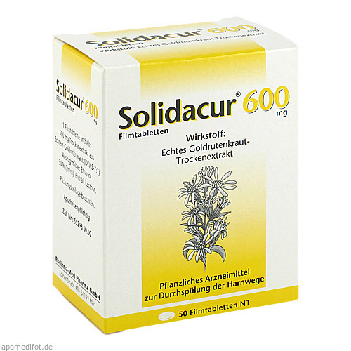 Solidacur 600mg, 50 ST, Rodisma-Med Pharma GmbH