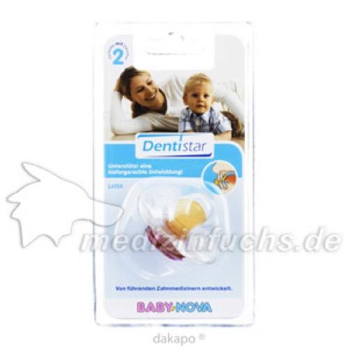 DENTISTAR-BS LATEX OHNE RING/BABYS MIT ZÄHNEN, 1 ST, Novatex GmbH
