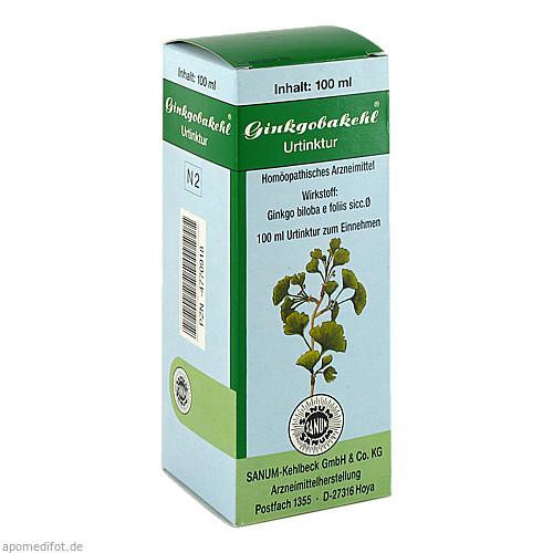 GINKGOBAKEHL, 100 ML, Sanum-Kehlbeck GmbH & Co. KG