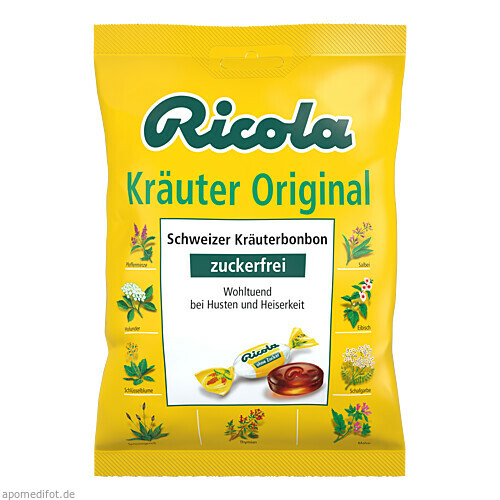 Ricola oZ Kräuter, 75 G, MCM KLOSTERFRAU Vertr. GmbH