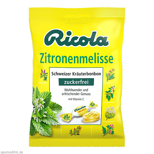 Ricola oZ Zitronenmelisse, 75 G, Queisser Pharma GmbH & Co. KG