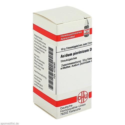 ACIDUM PICRINIC D 6, 10 G, Dhu-Arzneimittel GmbH & Co. KG
