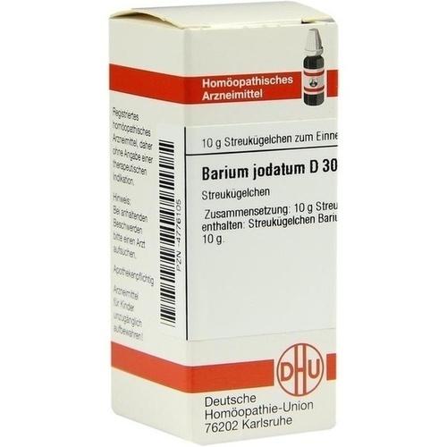 BARIUM JODAT D30, 10 G, Dhu-Arzneimittel GmbH & Co. KG