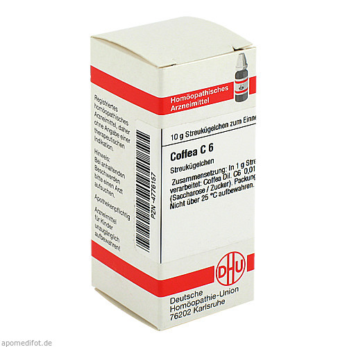 COFFEA C 6, 10 G, Dhu-Arzneimittel GmbH & Co. KG
