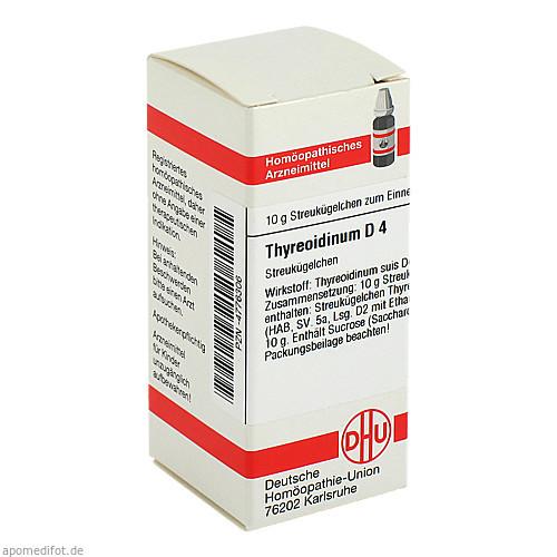 THYREOIDINUM D 4, 10 G, Dhu-Arzneimittel GmbH & Co. KG