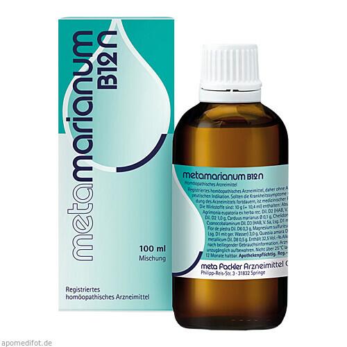 METAMARIANUM B12 N, 100 ML, Meta Fackler Arzneimittel GmbH