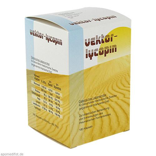 VEKTOR-LYCOPIN Kapseln, 180 ST, NOWAK GmbH