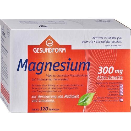 Gesundform Magnesium 300, 120 ST, Provita Apoth.Market.U.Handels GmbH