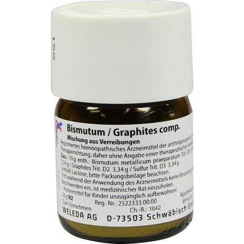 Bismutum Graphites comp., 50 G, Weleda AG