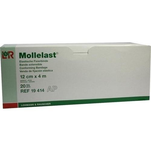 MOLLELAST 12CMx4m WEISS 19414, 20 ST, Lohmann & Rauscher GmbH & Co. KG
