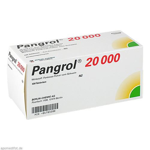 PANGROL 20000, 100 ST, Berlin-Chemie AG