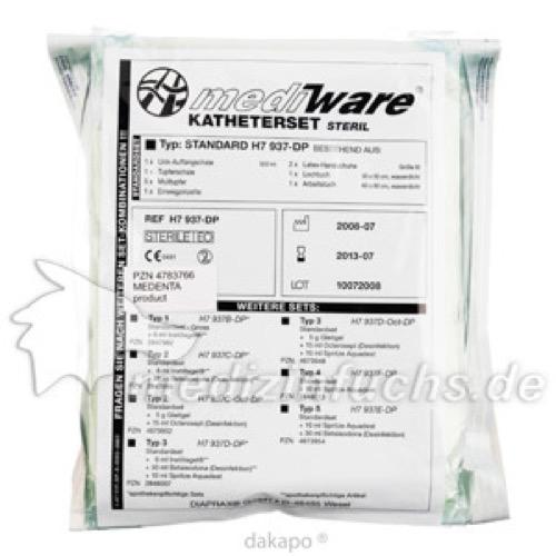 KATHETERISIERUNGSSET STERIL STANDARD, 1 ST, Medenta GmbH