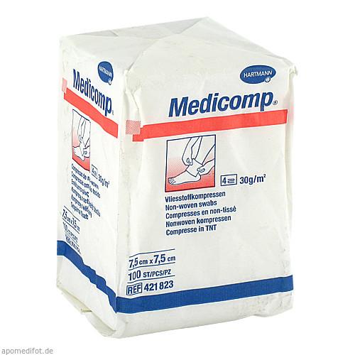 MEDICOMP UNSTERIL7.5X7.5CM, 100 ST, Paul Hartmann AG