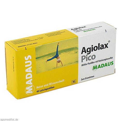 AGIOLAX PICO ABFUEHR PASTILLEN, 40 ST, MEDA Pharma GmbH & Co.KG
