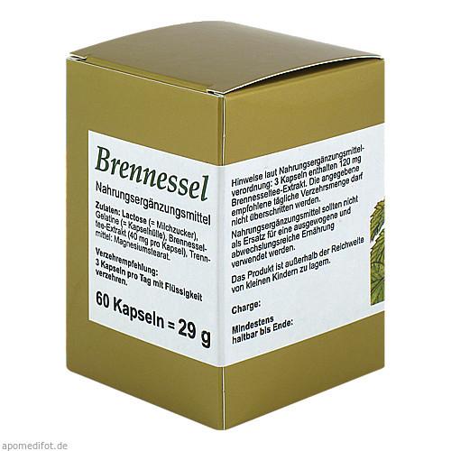 BRENNESSEL KAPSELN, 60 ST, Fbk-Pharma GmbH