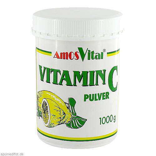 VITAMIN C PULV SUBST Soma, 1000 G, Amosvital GmbH
