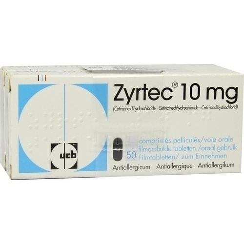 ZYRTEC, 100 ST, Beragena Arzneimittel GmbH