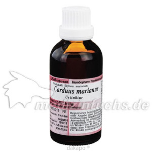 CARDUUS MAR URT, 50 ML, Anthroposan Homöopharm Produktionsgesellschaft mbH