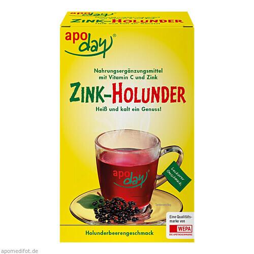 apoday Holunder Vitamin C + Zink o. Zuckerzusatz, 10X10 G, Wepa Apothekenbedarf GmbH & Co. KG