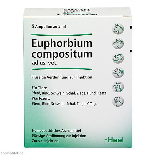 EUPHORBIUM COMPOSITUM ad us.vet.Ampullen, 5X5 ML, Biologische Heilmittel Heel GmbH