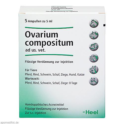 OVARIUM COMPOSITUM ad us.vet.Ampullen, 5X5 ML, Biologische Heilmittel Heel GmbH