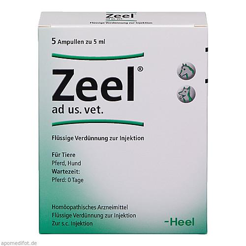 ZEEL ad us.vet.Ampullen, 5X5 ML, Biologische Heilmittel Heel GmbH