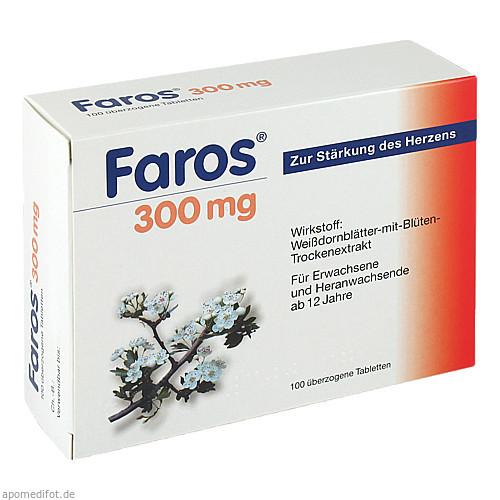 Faros 300mg, 100 ST, MCM Klosterfrau Vertriebsgesellschaft mbH