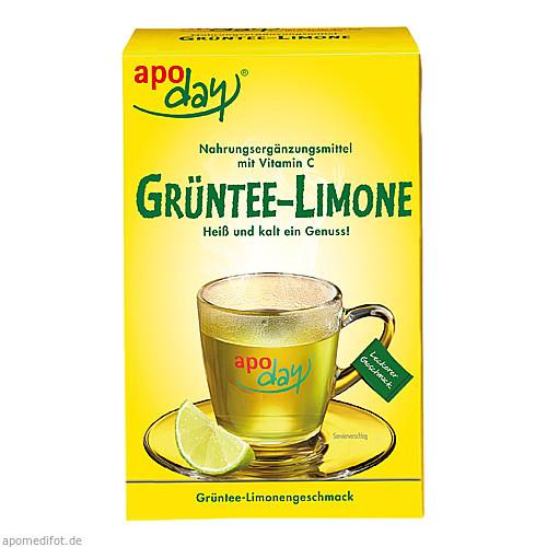 apoday Limone Vitamin C u. Grüntee-Extrakt, 10X10 G, WEPA Apothekenbedarf GmbH & Co KG