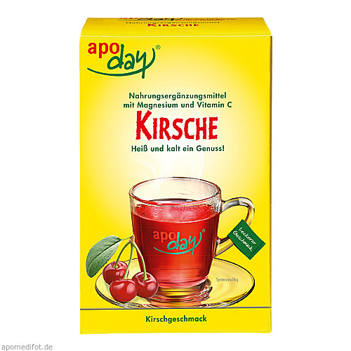 apoday Kirsch Magnesium u. Vitamin C, 10X10 G, Wepa Apothekenbedarf GmbH & Co. KG