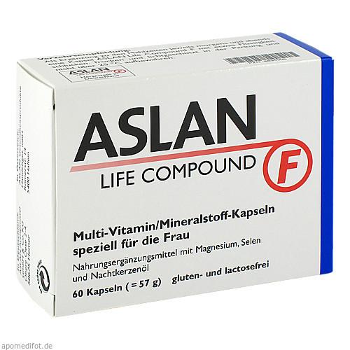 ASLAN LIFE COMPOUND F, 60 ST, Aslan GmbH