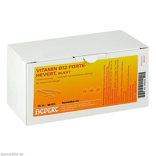 VITAMIN B12 Hevert forte Injekt Ampullen, 50X2 ML, Hevert Arzneimittel GmbH & Co. KG